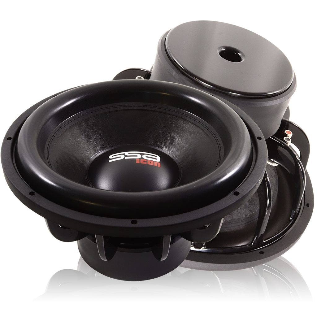 "ICON 15 | 15"" 1,250 WATT CAR SUBWOOFER"
