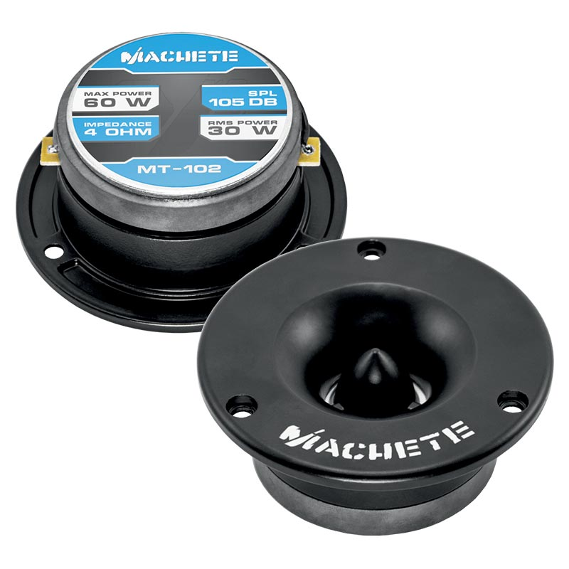 "MACHETE MT-102 | 1"" 120 WATT BULLET TWEETERS - PAIR"