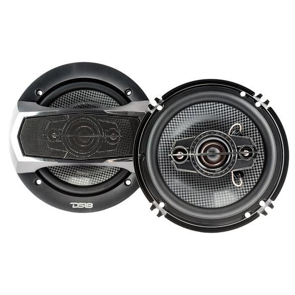 "SLC-N65X | 6.5"" 200 WATT MAX COAXIAL CAR SPEAKERS - PAIR"