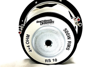 "RS-10"" 500 RMS Entry Woofer"