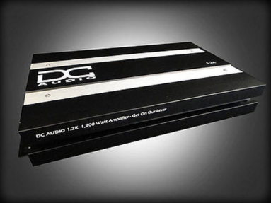 DC Audio 1.2k - 1,200w Monoblock Amplifier
