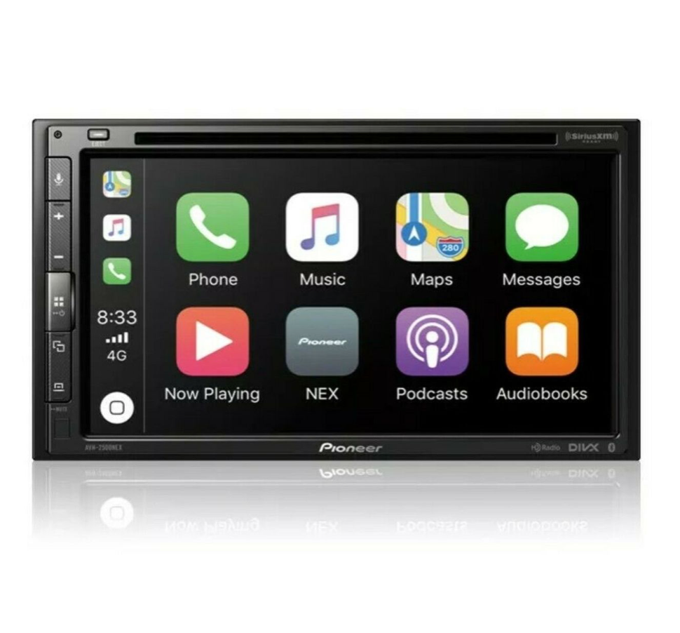 "Pioneer AVH-2500NEX Double Din - 6.8"" - Apple CarPlay - Bluetooth"