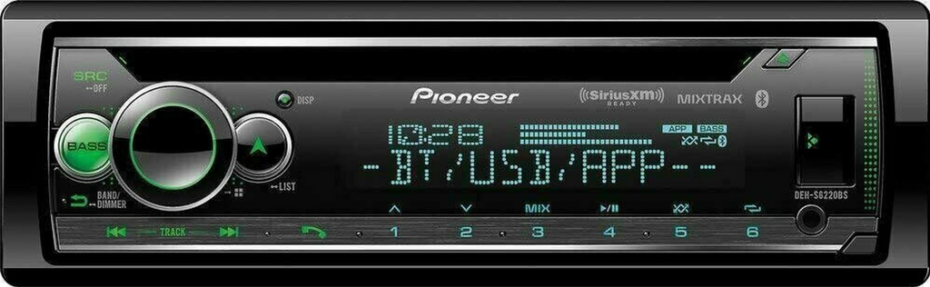 Pioneer DEH-S6200BS - Smart Sync - BlueTooth -  MIXTRAX