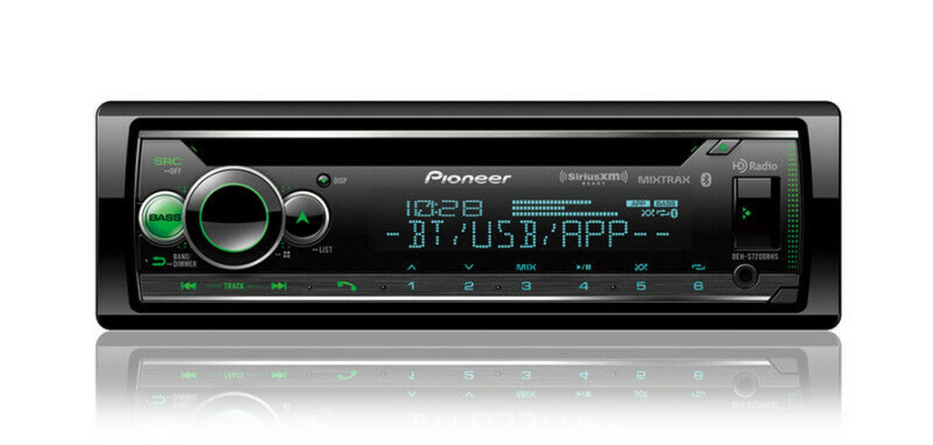 Pioneer DEH-S7200BHS - Alexa Built in - Bluetooth - Smart Sync