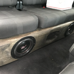 "2 X 10"" FORD CREWCAB 2015-2019 WITH SEAT LIFT KIT"