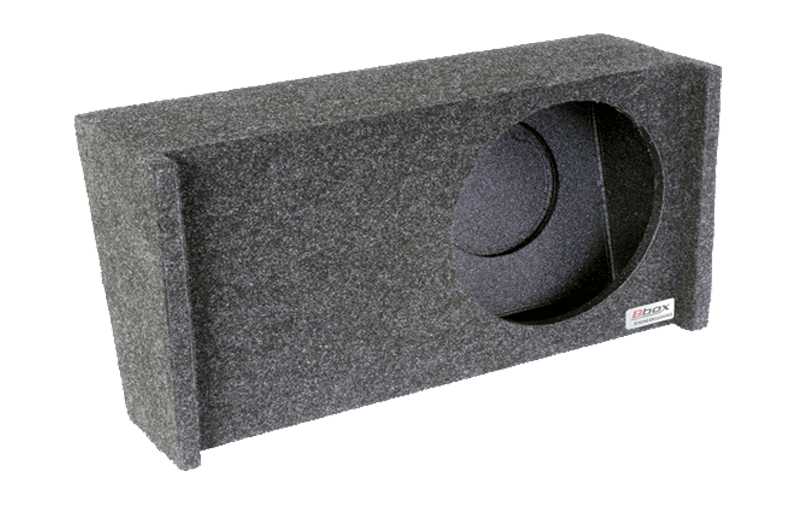 "Atrend  A341-10CP Single 10"" Sealed Carpeted Subwoofer Enclosure - Fits 2009 - up Ford F150 Super Crew / Super Cab"