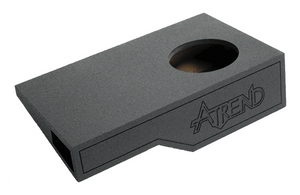 "Atrend A321-10 Single 10"" Vented Spraylinered Subwoofer Enclosure - Fits 2004 - 2008 Ford F150 Super Crew / Super Cab"