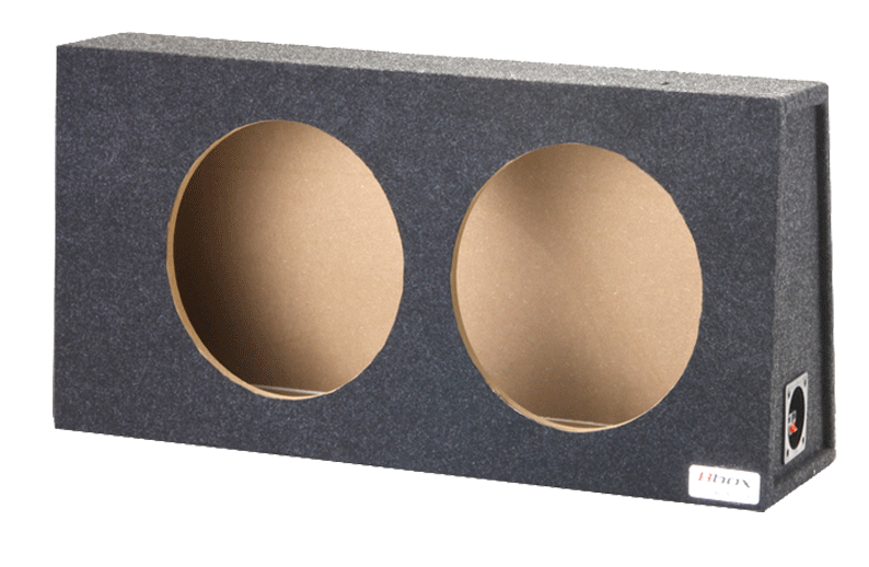 "Atrend A712-12CP Dual 12"" Sealed Carpeted Subwoofer Enclosure - Fits 1997 - 2006 Jeep Wrangler"