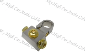 Sky High Car Audio SAE Battery Terminal W/3 RT Connections