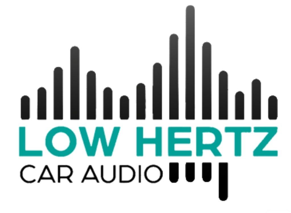 "Low Hertz Car Audio 6""x6"" Decal"