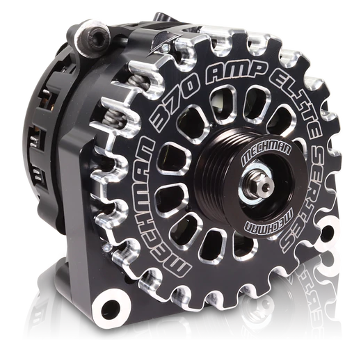 Mechman Black 370 Amp High Output Alternator for 1996-2004 GM Truck 4.3L 4.8L 5.3L 5.7L 6L