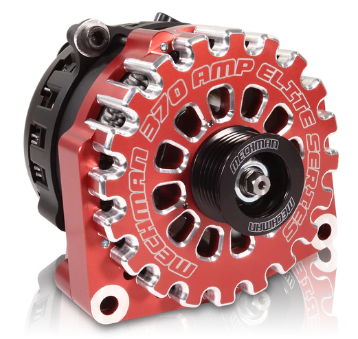 Mechman Red 370 Amp High Output Alternator for 1996-2004 GM Truck 4.3L 4.8L 5.3L 5.7L 6L