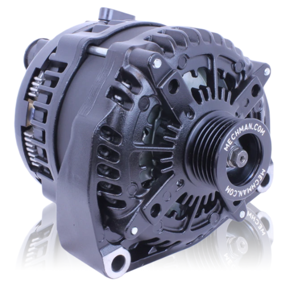 320 Amp High Output Black Alternator 1996-2004 GM Truck 4.3L 4.8L 5.3L 5.7L 6.0L