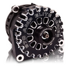 Mechman 370 Amp Black Billet Aluminum Alternator 2005-2013+ Chevrolet / GMC / Cadillac / Hummer Truck