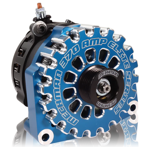 370 Amp Blue Billet Alternator for 14-18 GM Silverado Sierra Suburban Tahoe Escalade