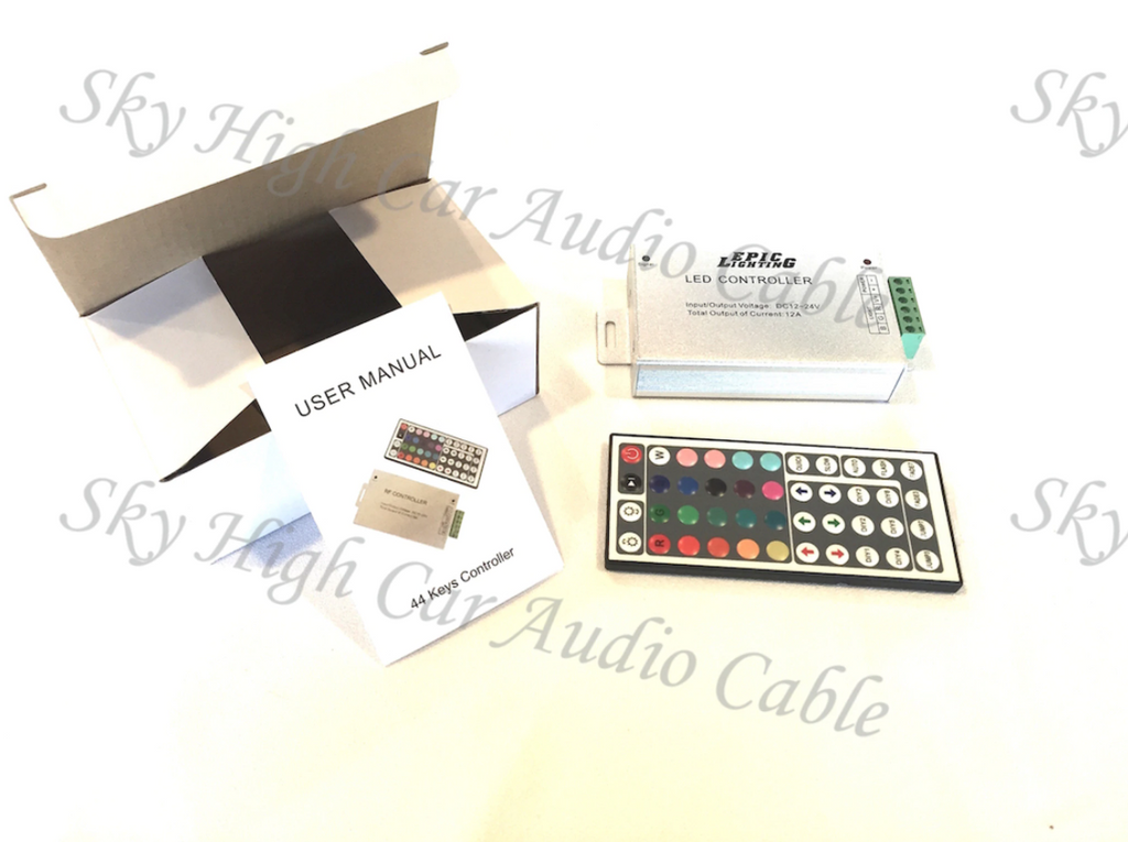 Epic Lighting LED RGB Infrared Control Box w/ Remote