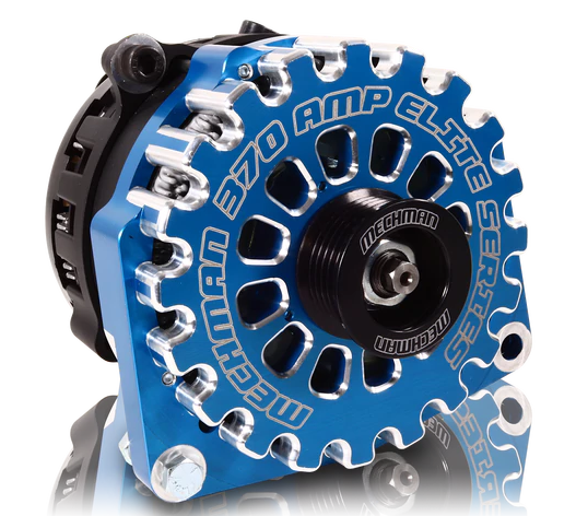 370 Amp Elite Series Alternator For 88-95 GM Truck (Blue)