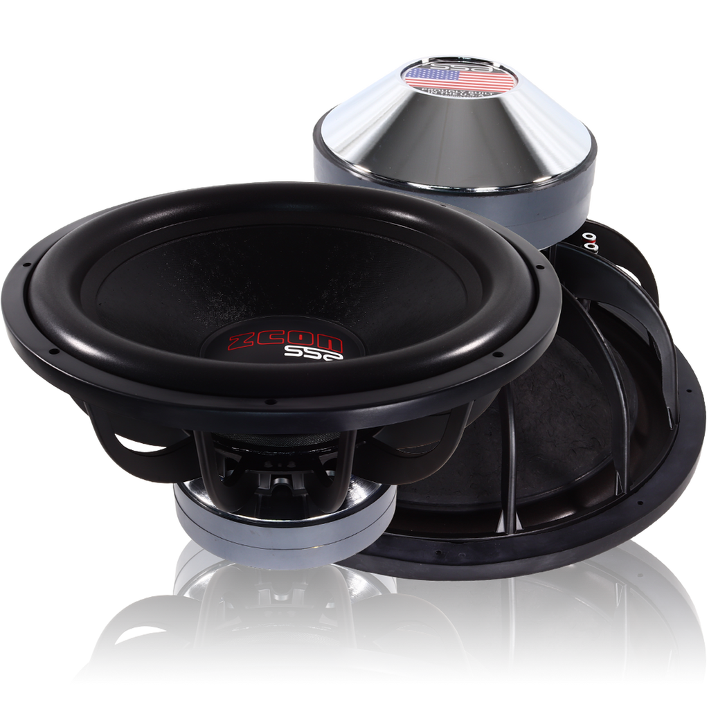 "ZCON 18 | 18"" 2,500 WATT CAR SUBWOOFER"