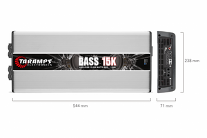 BASS 15K | 15,000 WATT MONOBLOCK CAR AMPLIFIER