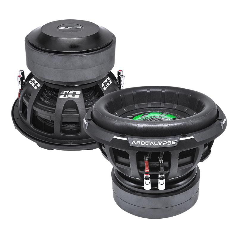 "APOCALYPSE DB-3012R | 12"" 2,800 WATT RMS CAR SUBWOOFER"