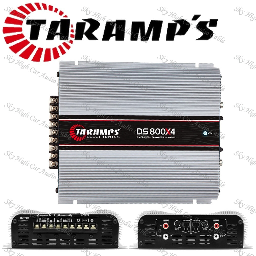 DS 800.4 - 2 OHM | 800 WATT 4 CHANNEL AMPLIFIER