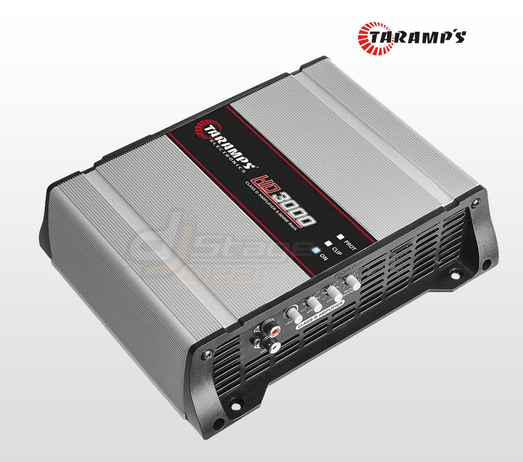 HD 3000.1 | 3,000 WATT MONOBLOCK CAR AMPLIFIER