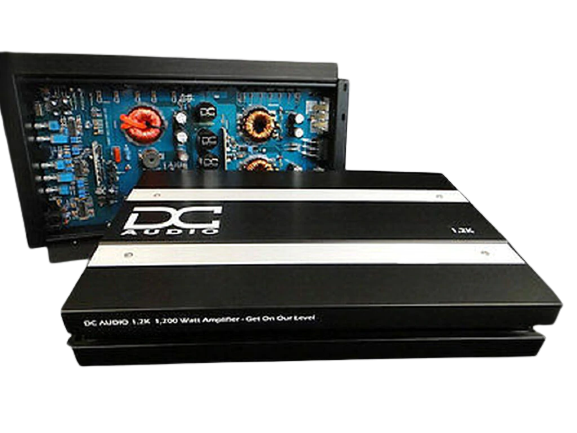 DC 1.2K | 1,200 WATT MONOBLOCK CAR AMPLIFIER