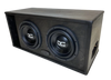 "TWO 10"" SUBWOOFER ENCLOSURE 2.25 CF"