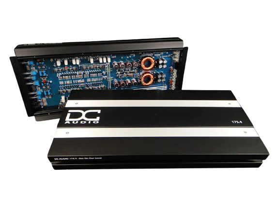 DC 175.4k | 1,000 WATT 4 CHANNEL CAR AMPLIFIER
