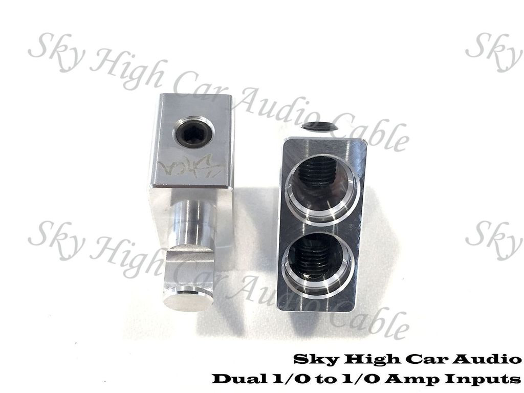 Sky High Car Audio Dual 1/0 to 1/0 Gauge Inputs