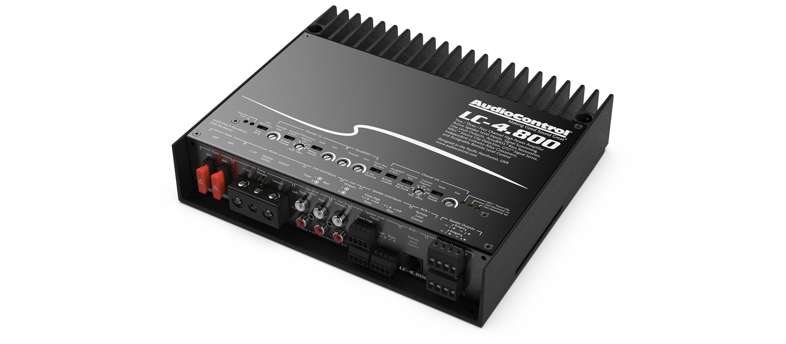 LC-4.800 | 800 WATT 4 CHANNEL CAR AMPLIFIER