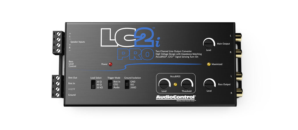 LC2i PRO | 2-Channel Line Output Converter with AccuBASS