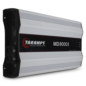 MD8000.1 - 2 OHM | 8,000 WATT MONOBLOCK CAR AMPLIFIER
