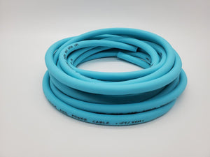 25 ' ft 8 Gauge AWG TEAL Power Ground Wire Sky High Car Audio GA ft