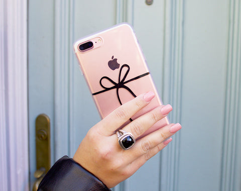 Cute iPhone Cover Ribbon