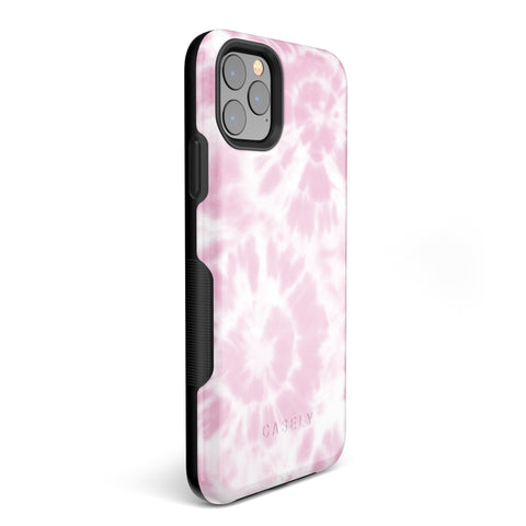Holographic Stained Glass Marble iPhone Case