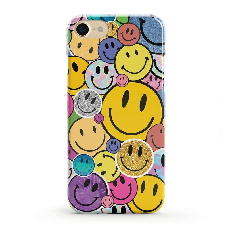 All Smiles | Smiley Face Sticker Case iPhone Case get.casely Classic iPhone SE (2020)
