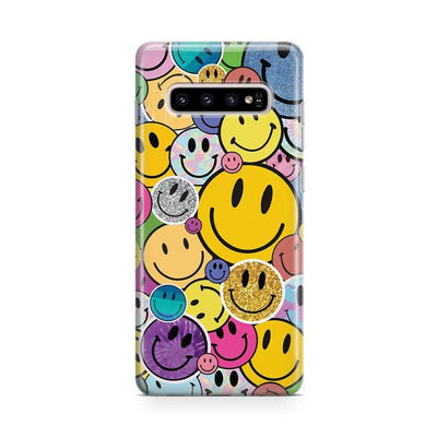 All Smiles | Smiley Face Sticker Samsung Case Samsung Case get.casely Classic Galaxy Note 10 Plus