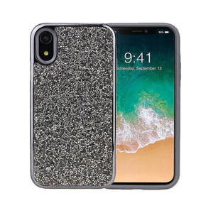 All That Glitter Charcoal Crystal Case iPhone Case Get.Casely Classic iPhone XR