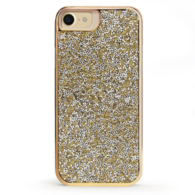 brand new 43e01 ff5a6 All That Glitter Gold Crystal Case