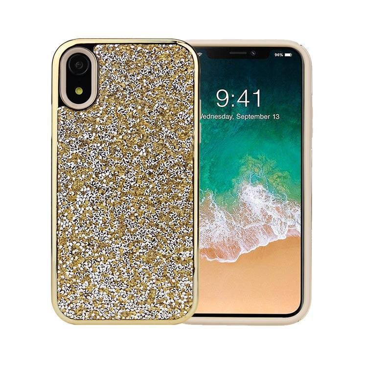 All That Glitter Gold Crystal Case iPhone Case Get.Casely Classic iPhone XR