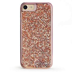 All That Glitter Rose Gold Crystal Case iPhone Case Get.Casely