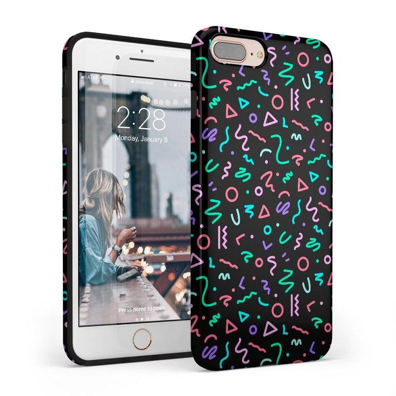Always Vibing | Glow In The Dark Retro Case iPhone Case get.casely Classic iPhone SE (2020)