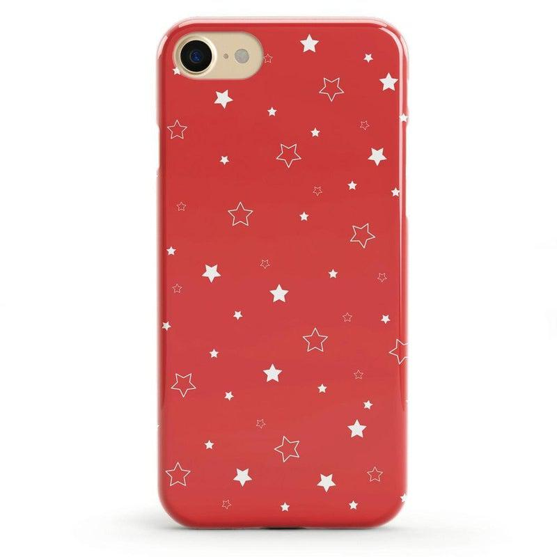 Among the Stars Red Star Patterned Case iPhone Case Get.Casely Classic iPhone 6/6s