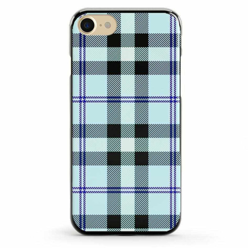 As if! Light Blue Plaid Case iPhone Case Get.Casely Classic iPhone 6/6s