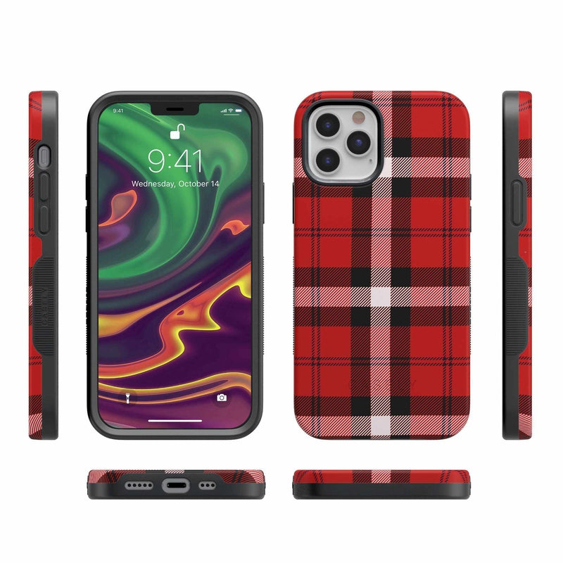 As if! Red Plaid iPhone Case iPhone Case get.casely