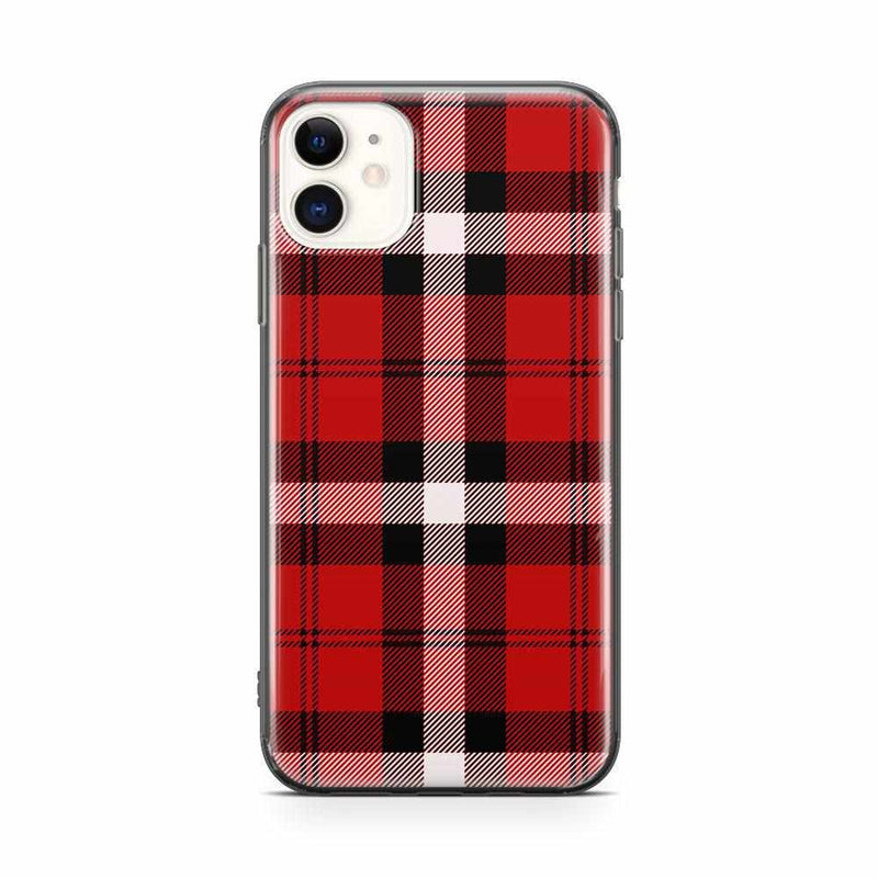 As if! Red Plaid iPhone Case iPhone Case get.casely Classic iPhone 11