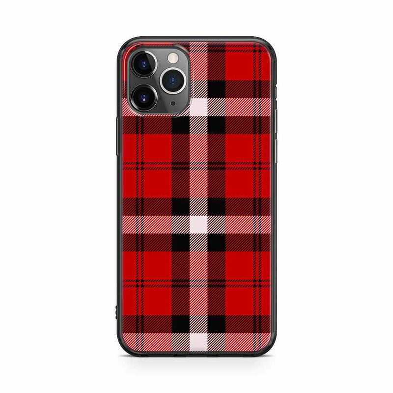 As if! Red Plaid iPhone Case iPhone Case get.casely Classic iPhone 11 Pro