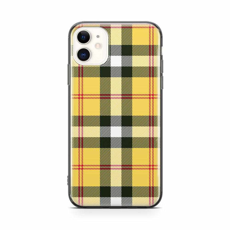 As if! Yellow Plaid iPhone Case iPhone Case get.casely Classic iPhone 11