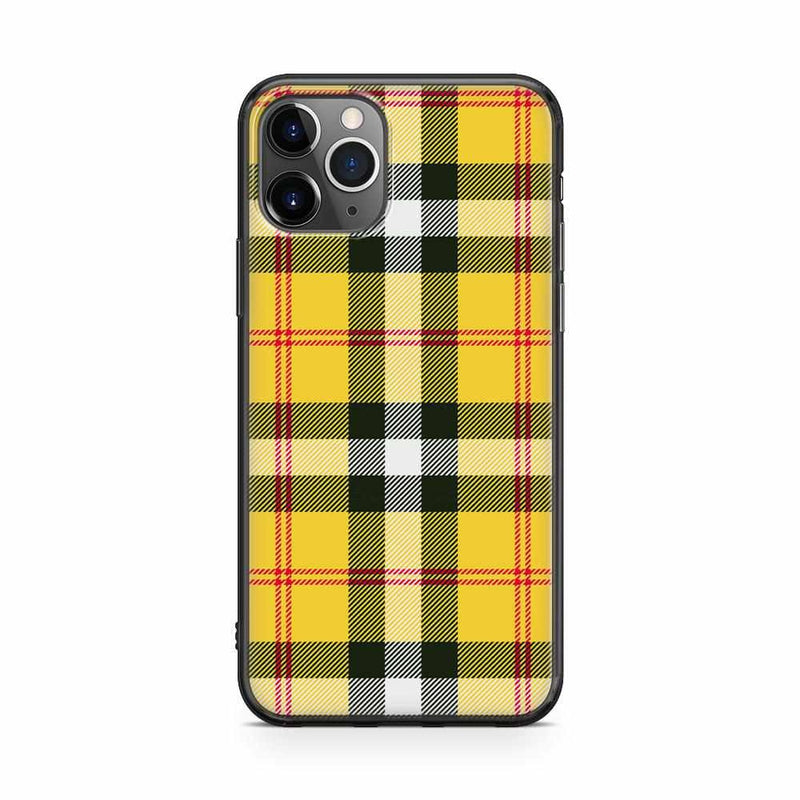As if! Yellow Plaid iPhone Case iPhone Case get.casely Classic iPhone 11 Pro